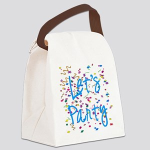party Canvas Lunch Bag