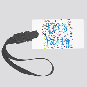 party Large Luggage Tag