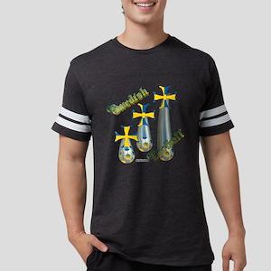 RainingSwedishShirt Mens Football Shirt