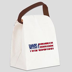votechrist1a Canvas Lunch Bag
