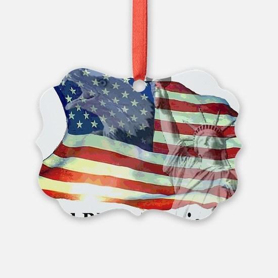 God Bless America! Ornament