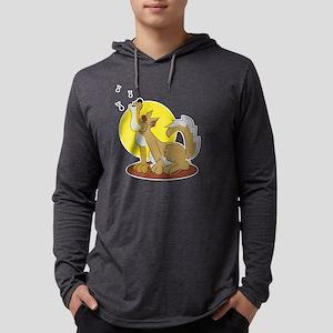 wolf_howl Mens Hooded Shirt