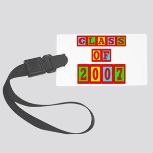 2007a Large Luggage Tag