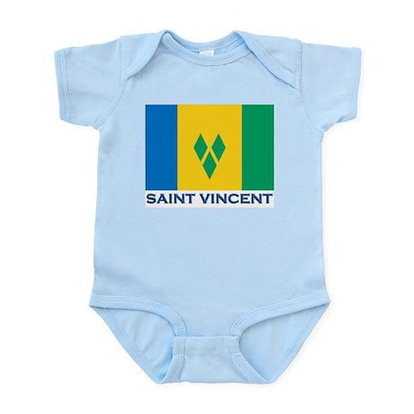 Flag of Saint Vincent Infant Creeper