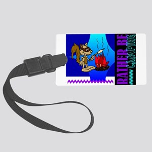 camping Large Luggage Tag
