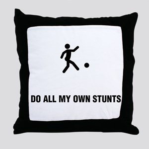 Kickball Throw Pillow