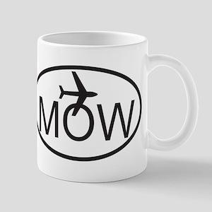 moscow airport Mug