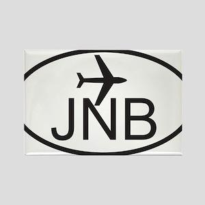 johannesburg airport Rectangle Magnet