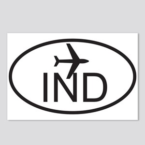 indianapolis airport Postcards (Package of 8)