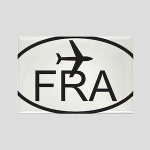 frankfurt airport Rectangle Magnet