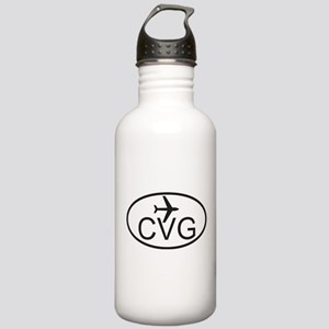 cincy airport Stainless Water Bottle 1.0L