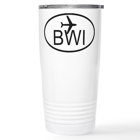 baltimore airport.jpg Stainless Steel Travel Mug