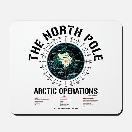 The North Pole Mousepad
