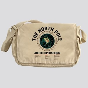The North Pole Messenger Bag