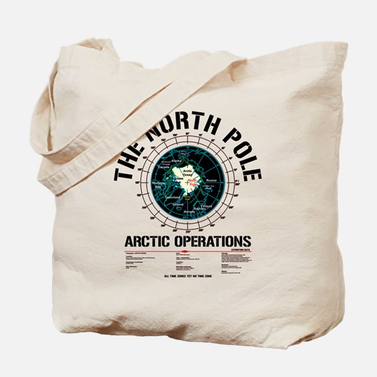 The North Pole Tote Bag