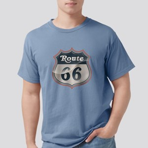 Glossy Route 66 Mens Comfort Colors Shirt
