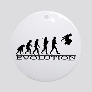 Evolution Parkour Ornament (Round)