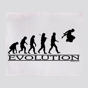 Evolution Parkour Throw Blanket