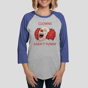 ClownsArentFunny1C Womens Baseball Tee
