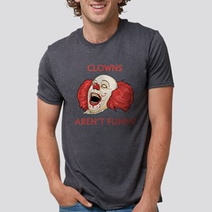ClownsArentFunny1C Mens Tri-blend T-Shirt