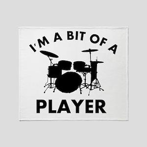 Cool Drums designs Throw Blanket
