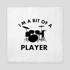 Cool Drums designs Queen Duvet