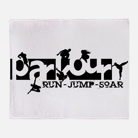 Parkour Throw Blanket