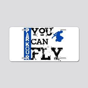 Parkour - You Can Fly Aluminum License Plate
