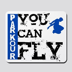 Parkour - You Can Fly Mousepad