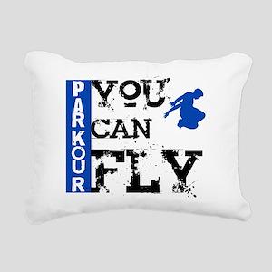 Parkour - You Can Fly Rectangular Canvas Pillow