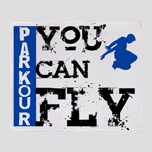 Parkour - You Can Fly Throw Blanket