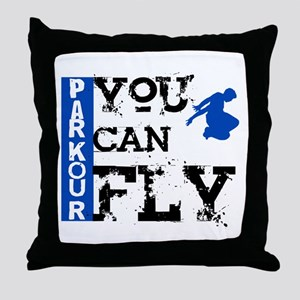 Parkour - You Can Fly Throw Pillow