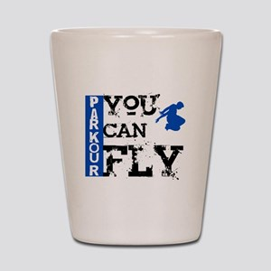 Parkour - You Can Fly Shot Glass