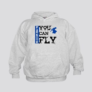Parkour - You Can Fly Kids Hoodie