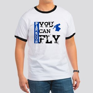 Parkour - You Can Fly Ringer T