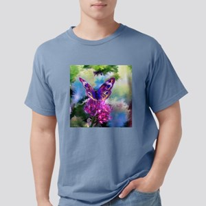 Colorful Abstract Butter Mens Comfort Colors Shirt