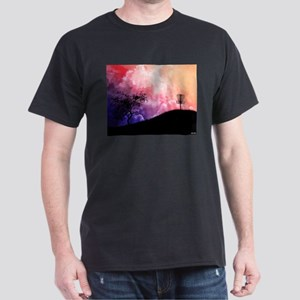 Basket On A Hill Dark T-Shirt