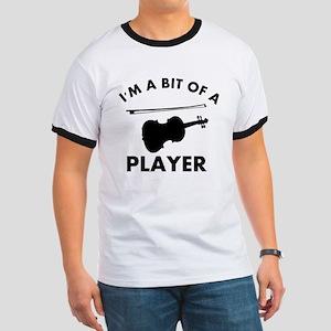 Cool Violin designs Ringer T