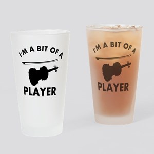 Cool Violin designs Drinking Glass