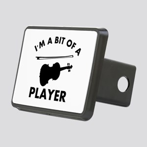Cool Violin designs Rectangular Hitch Cover