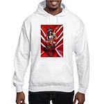 Music guitar art Hooded Sweatshirt