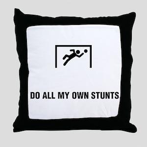 Goalkeeper Throw Pillow