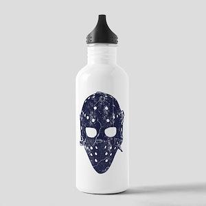 Vintage Hockey Goalie Mask (dark) Stainless Water