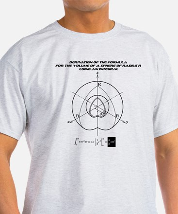 the formula for the volume of a sphere T-Shirt
