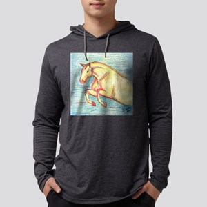 Color pencil Jumper Pony Mens Hooded Shirt