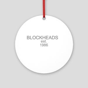 blockheads Ornament (Round)