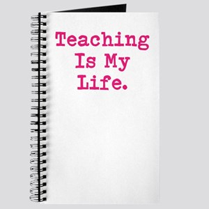 Woman Teacher Teaching Quote Journal