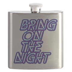 Bring on the Night - Adelaide hip flask