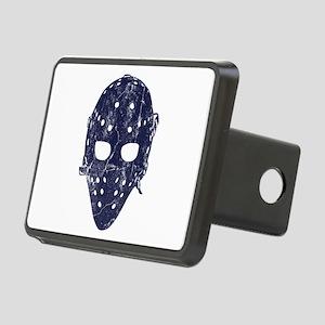 Vintage Hockey Goalie Mask (dark) Rectangular Hitc