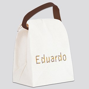 Eduardo Pencils Canvas Lunch Bag